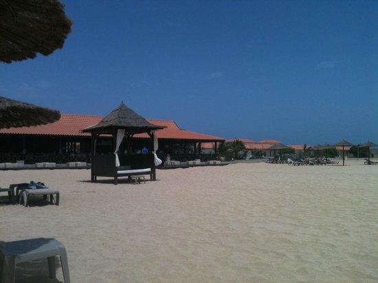 Melia Tortuga Beach Resort & Spa : Bali bed on beach