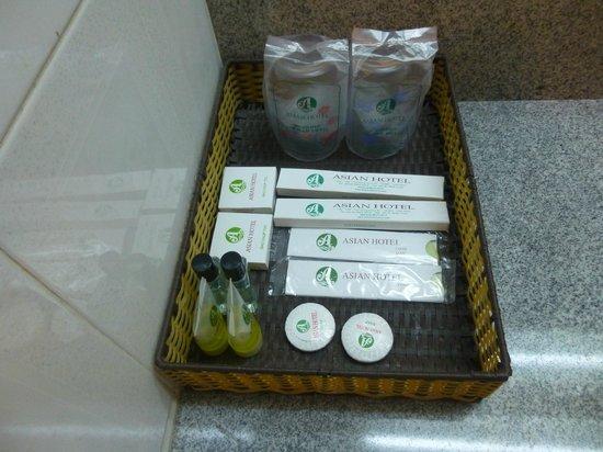 Asian Hotel: bath amenity