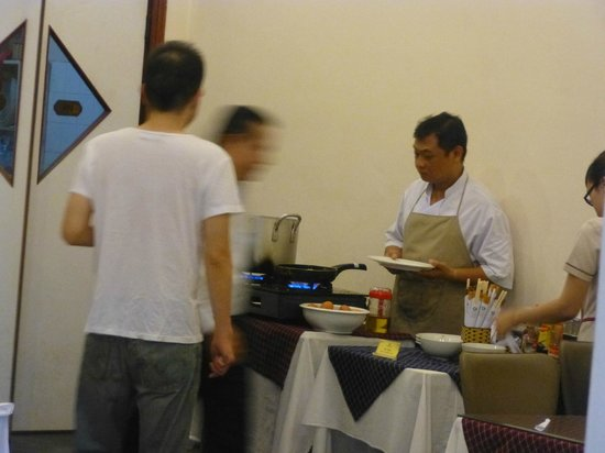 Asian Hotel: Pho stand