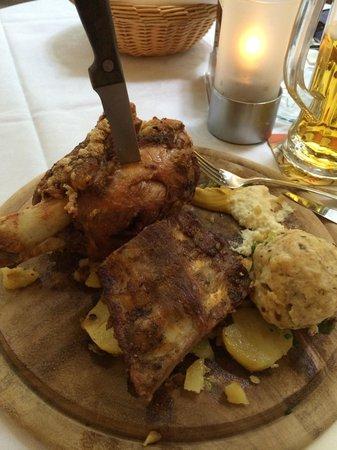 Forsterbräu Meran: Piatto Forst