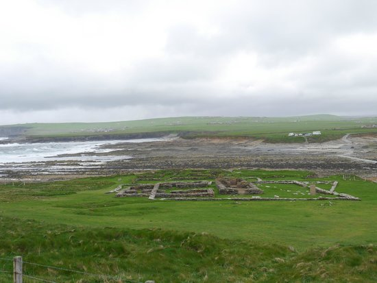 Brough Of Brisay: Old settlement on Brough of Birsay