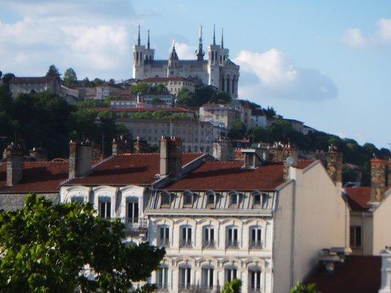 Mercure Lyon Centre Chateau Perrache: 窓からの眺め