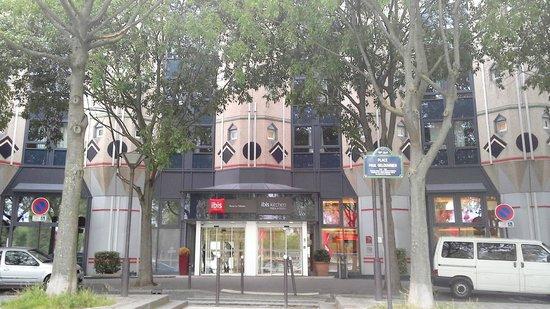 Ibis Paris La Villette Cité des Sciences 19eme : l'ingresso dell'hotel
