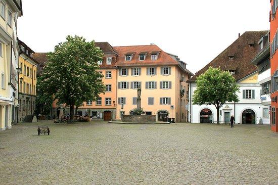 Hotel Ochsen: Town square