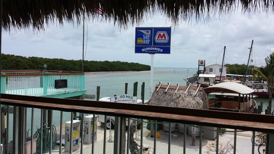 Burdines Waterfront: View of the Ocean from Our Table
