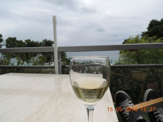 Aminess Grand Azur Hotel : Grand, Orebic, Croatia - view from seaside terrace