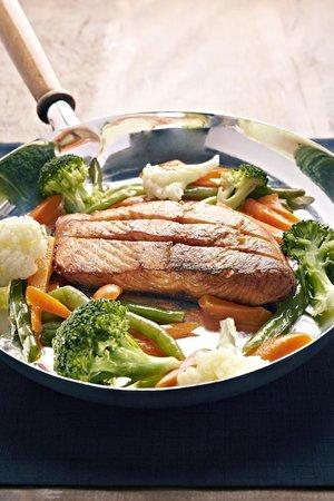 O Berro: Filé de salmão grelhado