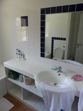 Badkamer 1 met grote lavabo. - Picture of Residence Odalys Les ...