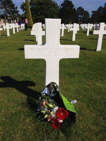 Hotel de Sainte Croix : American cemetery Colleville-sur-Mer