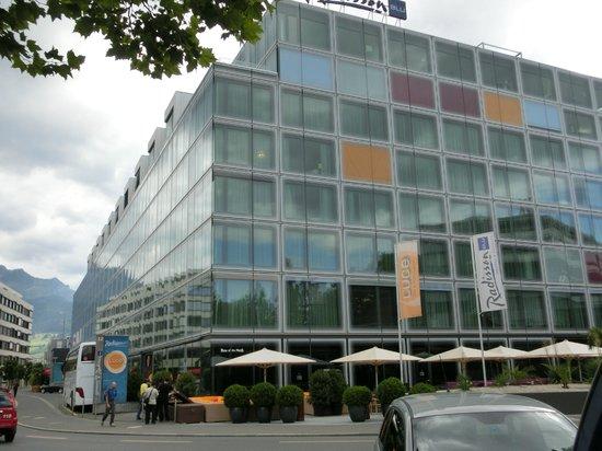 Radisson Blu Hotel, Lucerne: ホテル外観
