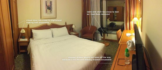 Harbour Plaza North Point : very small for extended stays