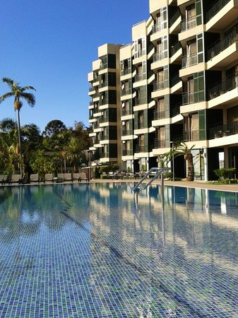 Enotel Quinta do Sol: L'hôtel avec vue sur la piscine extérieure