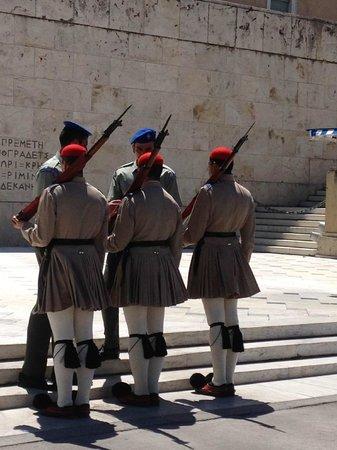 Hellenic Parliament : inspectie