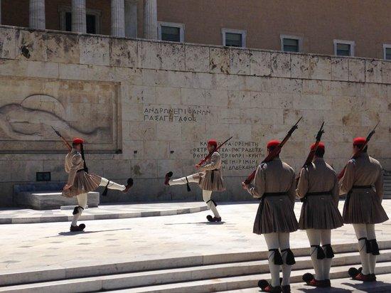 Hellenic Parliament : begin actie