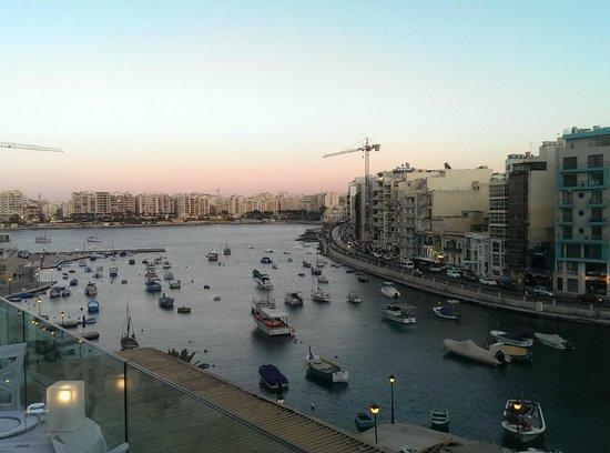 Dolce Vita: scenic view from restaurant's balcony