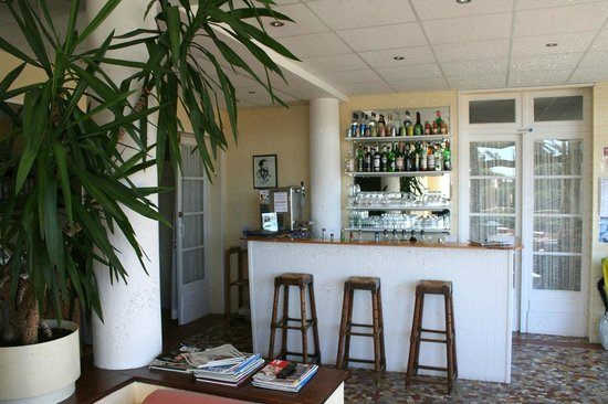 Hotel Mermoz : Bar salon réception