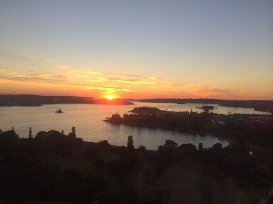 InterContinental Sydney: 客房內早晨