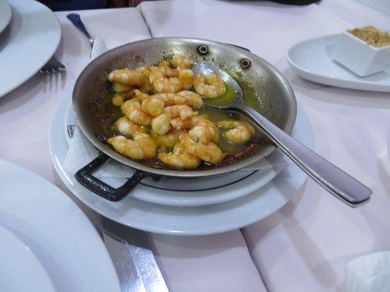 Restaurante Marisqueira Concha D`ouro: shrimps
