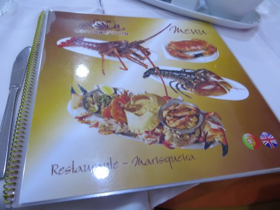 Restaurante Marisqueira Concha D`ouro: Menu
