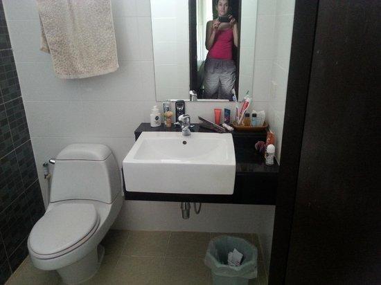 Lamai Wanta : Ванная комната (за перегородкой душ)