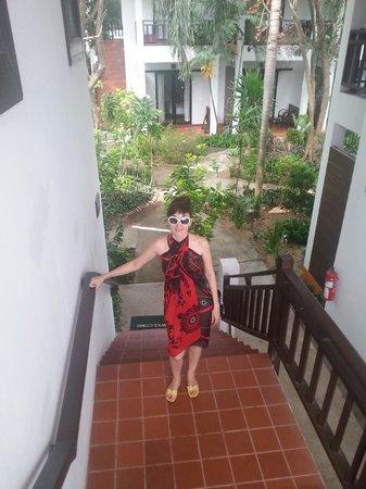 Lamai Wanta : Лестница на 2-й этаж