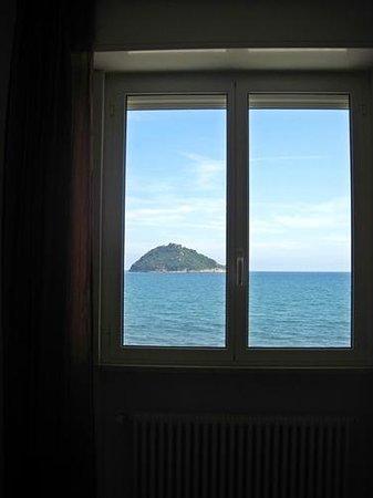 Residence Sole : vista dalla finestra della stanza