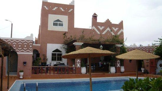 Le Petit Riad: Vue de la terasse