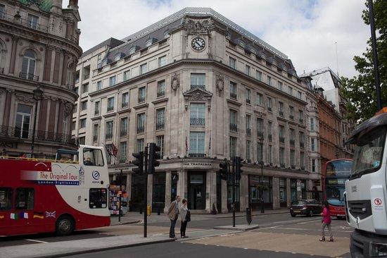 The Trafalgar Hotel: Front of Hotel