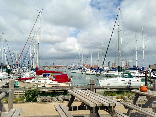 The Boat House Cafe Gosport Marina: Harbour View