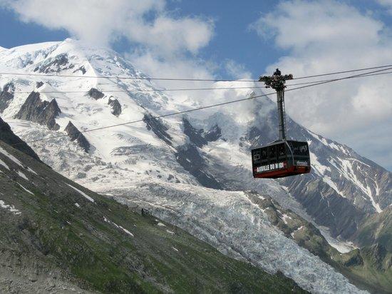 Aiguille du Midi: ロープウェイ