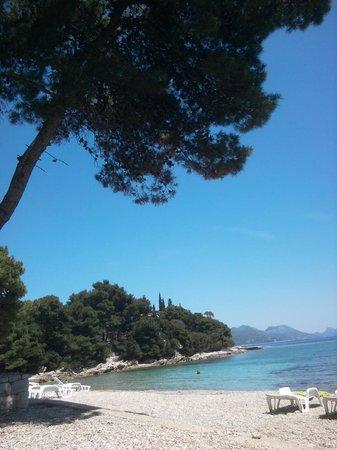 Aminess Grand Azur Hotel: Grand, Orebic, Croatia - beach
