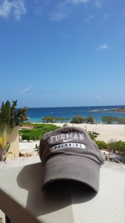 Santa Barbara Beach & Golf Resort, Curacao: View from the side of our balcony