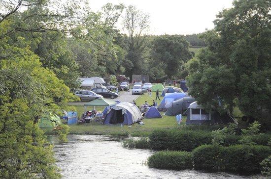 Battlebridge Caravan & Camping Park : Camping site