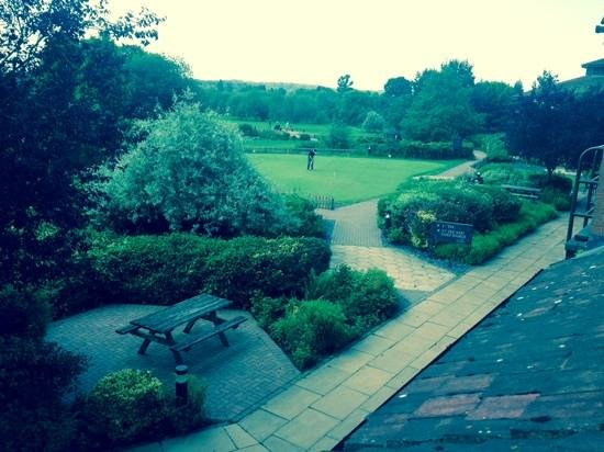 Abbey Hotel Golf & Spa: the view from our bedroom window