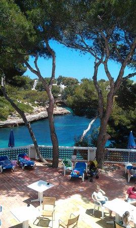 Hotel Cala Ferrera : view from the veranda