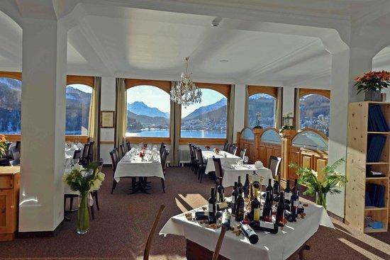 Restaurant Waldhaus am See : Restaurant