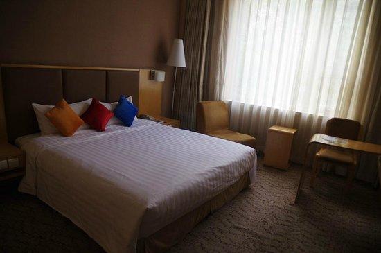 Novotel Xinqiao Beijing: La chambre