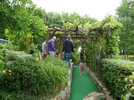 The Living Legend Village: lovely gardens too