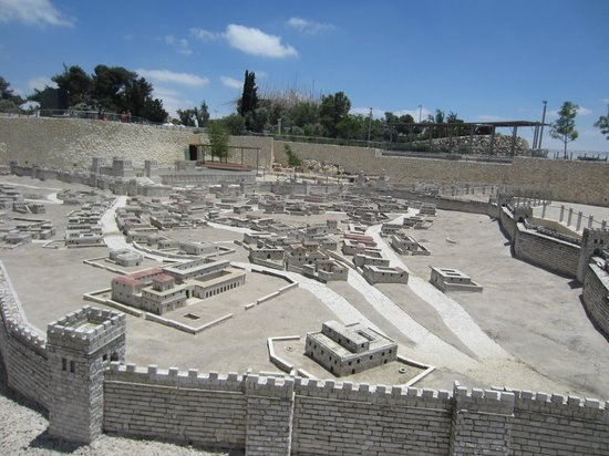 The King David : Old City Model at Jewish Museum