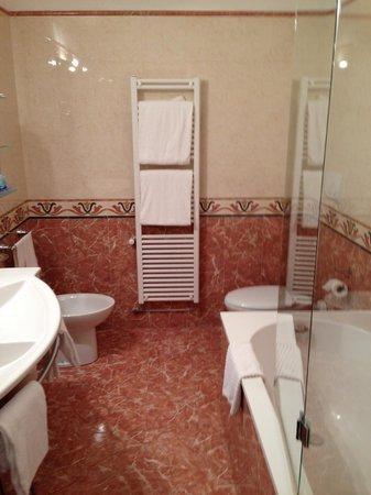 Hotel La Fenice Et Des Artistes: Banheiro