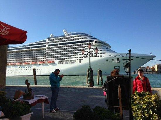 Al Redentore di Venezia : Café próximo ao Hotel