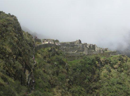 Approaching Sayacmarca