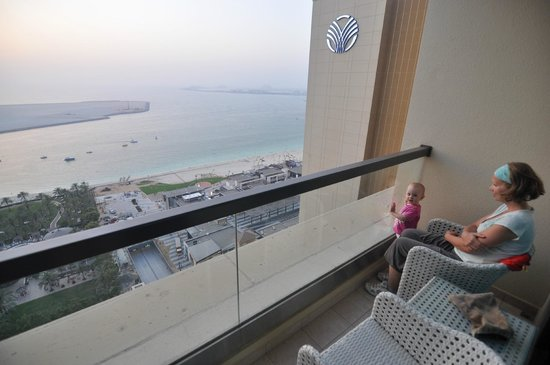 JA Ocean View Hotel: View from the 23th floor