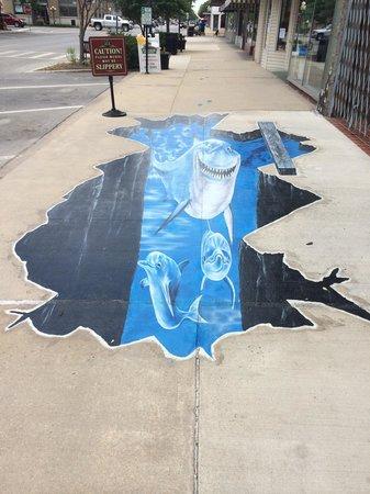 International Wall Dog Mural and Sign Art Museum: Street mural