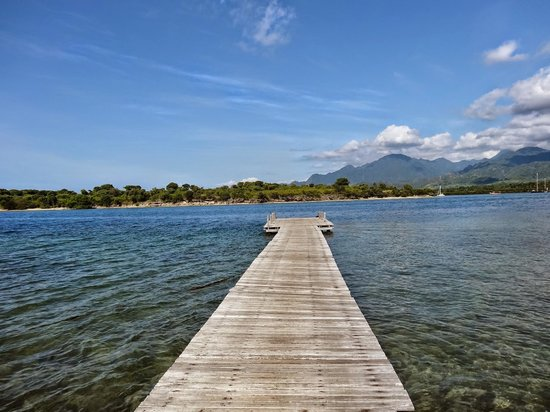 The Menjangan: La jetée (des bateaux mènent à l'île de Menjangan en 30min env)