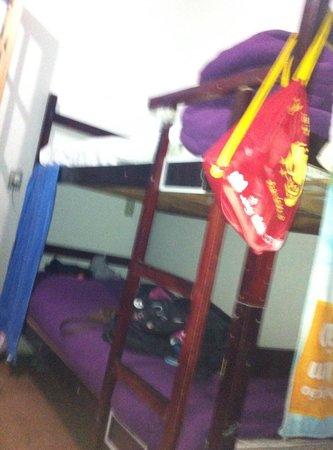 O de Casa Hostel: quarto