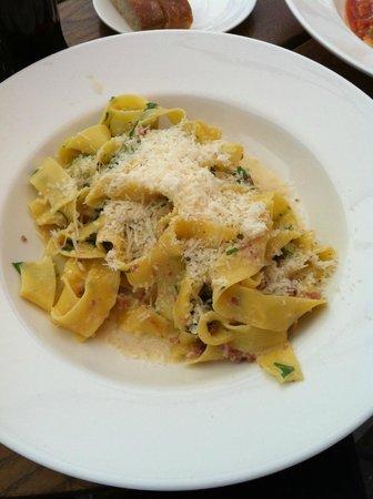 Trattoria Popolare : Pasta of the day (01/06)