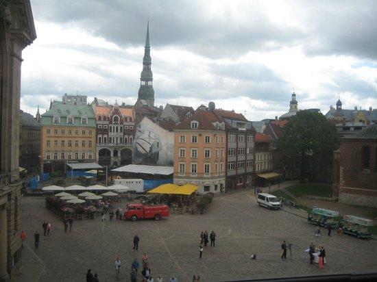 Art Museum Riga Bourse: вид из музея