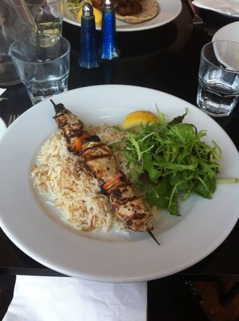 Olive Tree - Headingley: Main- chicken kebab