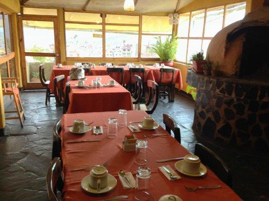 Hotel Kunturwassi Colca: breakfast area